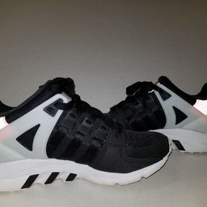 Adidas Equipment black, pink, and white size 6.5